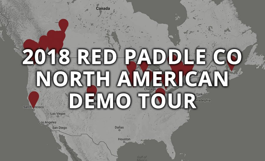 2018 red paddle co demo tour usa