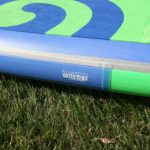 compression bands on starboard inflatable stand up board