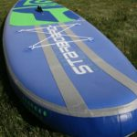 dual stringer on deck for stiffest inflatable sup