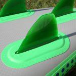 flex fins inflatable sup paddle baord