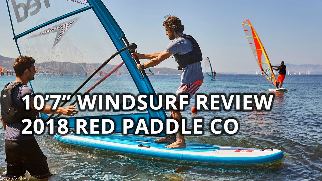 red paddle co windsurf sup inflatable windsup