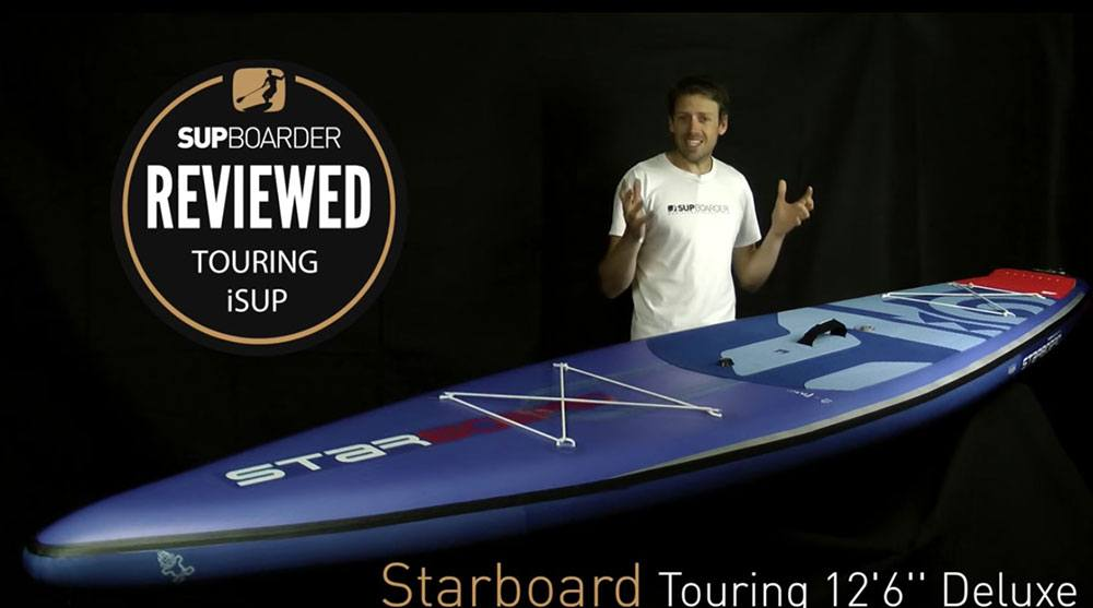 starboard inflatable paddle board review go paddling