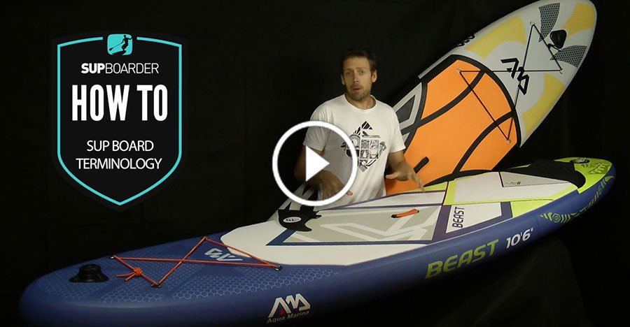 stand up paddle board names terms glossary words terminology