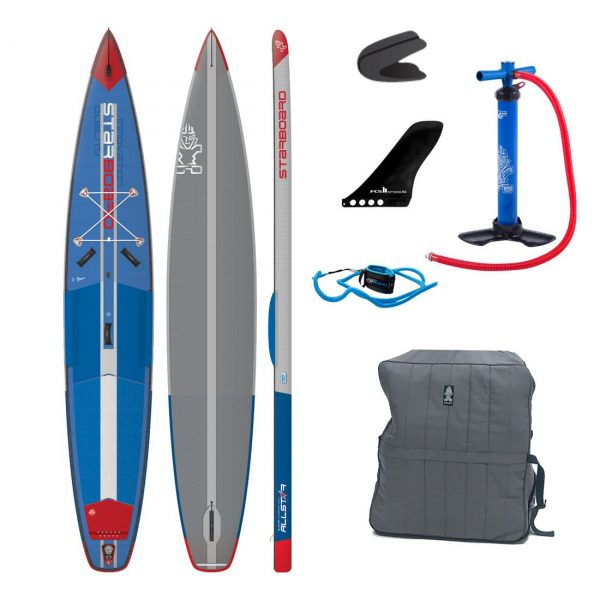 2019 starboard all star airline 14ft x 28inch inflatable racing paddle board green water sports