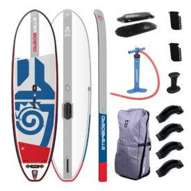 2019 10x33 whopper starboard sup windsurfer inflatable windsup paddle board green water sports