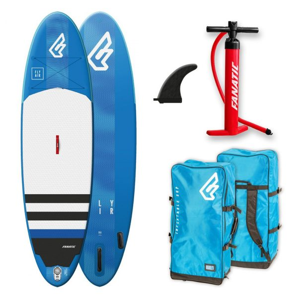 2019 fanatic fly air inflatable stand up paddle board sup green water sports