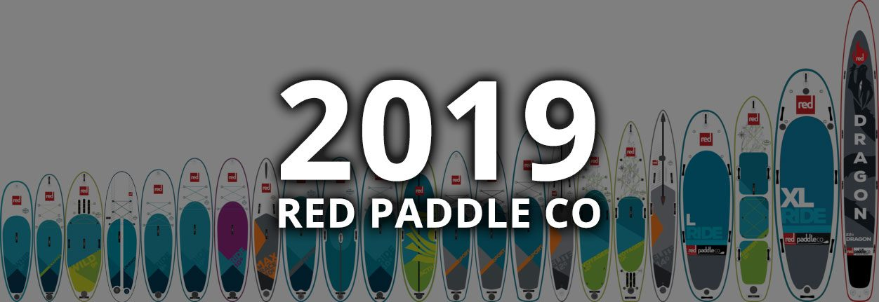 2019 red paddle co inflatable sup range