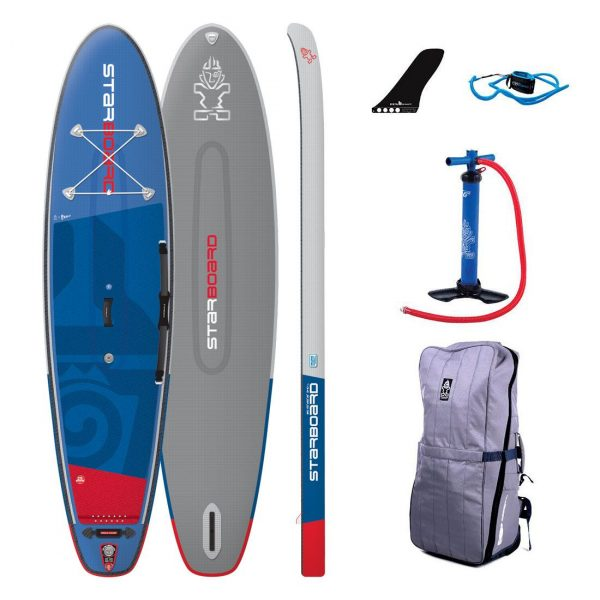 2019 starboard blend igo deluxe 11-2 x 32 inflatable sup green water sports