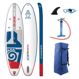 2019 starboard inflatable paddle board igo 10-8 x 33 zen lite green water sports