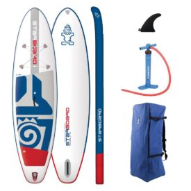 2019 starboard inflatable paddle board igo 10-8 x 33 zen lite green water sports no leash
