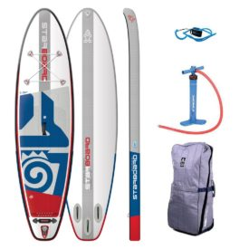 2019 starboard inflatable sup igo 10-4x32 all round board green water sports