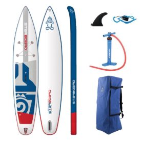 2019 starboard touring zen lite 12-6 x 30 inflatable paddle board sup green water sports