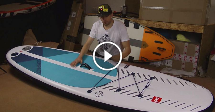 red paddle co compact pact msl inflatable stand up paddle board 2019