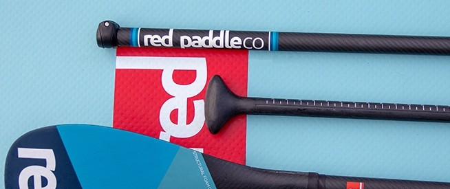 red paddle co carbon sup paddle green water sports