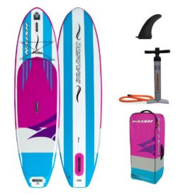 2020 naish alana 10 6 women girls inflatable stand up paddle board green water sports