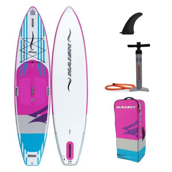 2020 naish inflatable paddle board alana touring sup 11 6 green water sports