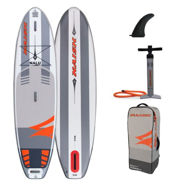 2020 naish nalu 10 6 inflatable stand up paddle board green water sports