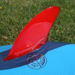 click fins on red paddle co best inflatable sup green water sports