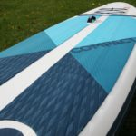 deck pad on red paddle compact 9 6 best paddle board green water sports