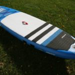 fanatic fly air paddle baord sup green water sports
