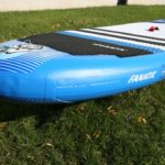 fly air fanatic inflatable sup paddle board green water sports