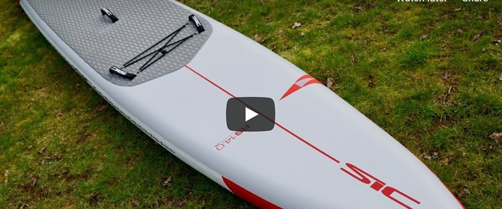 sic maui inflatable racing paddle board