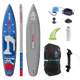 2020 starboard touring deluxe double chamber 12 6x30 inflatable paddle board green water sports