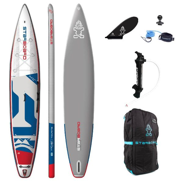 starboard 2020 touring deluxe single chmaber fusion paddle board 14×30 green water sports