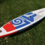 starboard zen lite 2019 10 8 paddle board sup green water sports