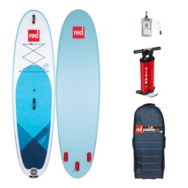 2020 red paddle co 10-6 ride all round best inflatable sup paddle board green water sports