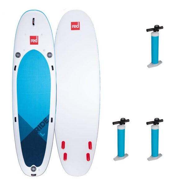 2020 red paddle co 14 ride l family fun board green water sports