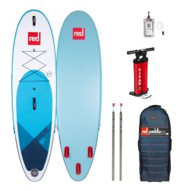 2020 red paddle co 9-8 ride all round surf inflatable paddle board green water sports