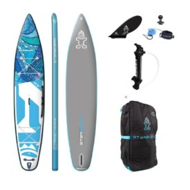 2020 starboard tikhine wave deluxe touring paddle board green water sports