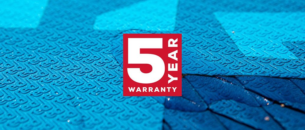 red paddle co 5 year warranty terms