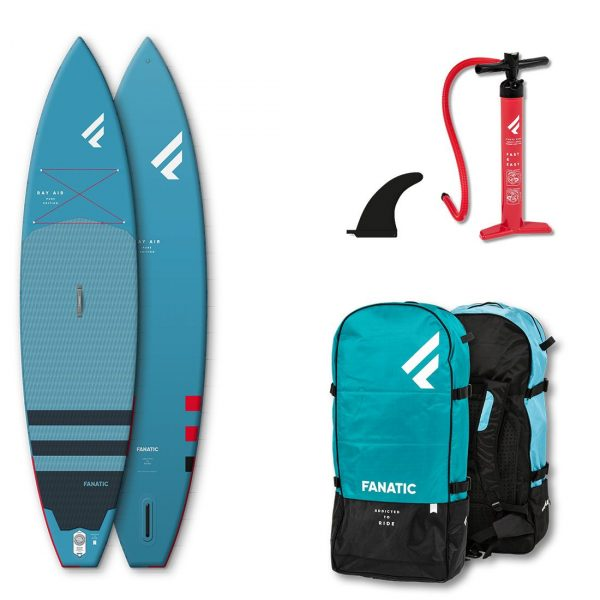 2020 fanatic ray air inflatable touring paddle board best touring sup green water sports