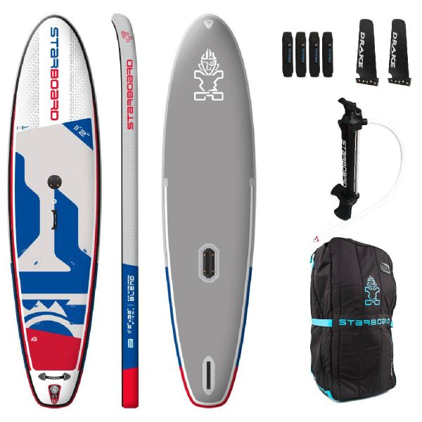 2020 starboard inflatable windsurfer windsup blend 11 2 deluxe best windsurf sup green water sports