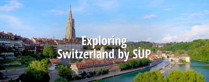 exploring switzerlnad by starboard stand up paddle board touring sup inflatable