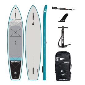 sic maui okeanos 11x29 inflatable touring sup green water sports