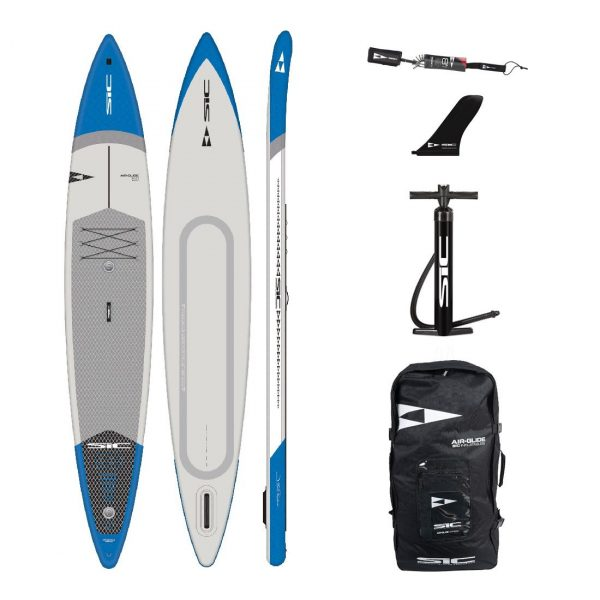 sic maui rs air 14×28.5 inflatable racing downwinding sup green water sports