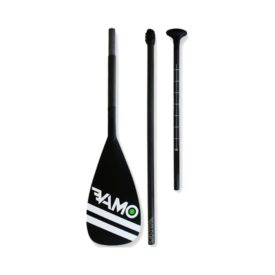 vamo 3 piece sup travel paddle carbon green water sports