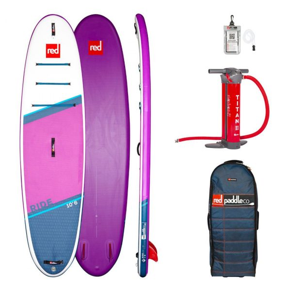 2021 red paddle co 10 6 ride special edition purple inflatable stand up paddle board sup best all round isup green water sports