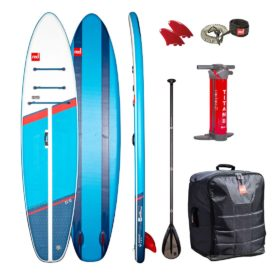 2021 red paddle co 11 compact inflatable sup paddle board package with paddle and leash green water sports