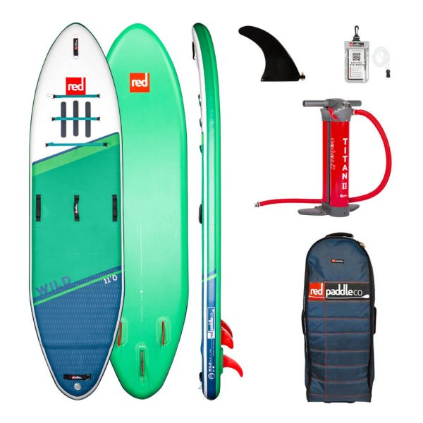 2021 red paddle co 11 wild best white water paddle board sup inflatable green water sports