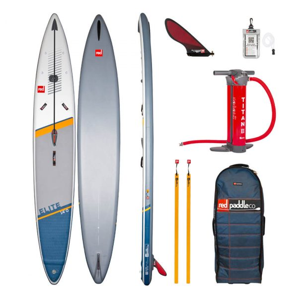 2021 red paddle co 14 elite racing inflatable stand up paddle board best race isup green water sports