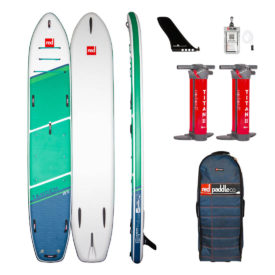 2021 red paddle co 15 tandem family board best partner inflatable sup paddle board green water sports