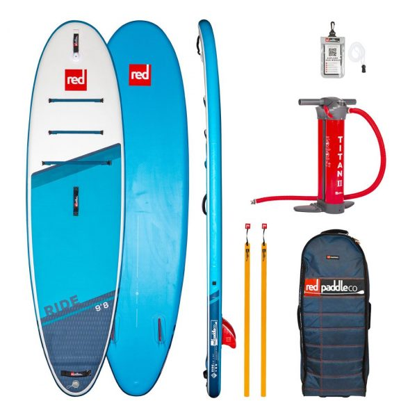 2021 red paddle co 9 8 ride inflatable stand up paddle board sup best all round small isup green water sports