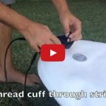 How to attach your stand up paddle boarding leash