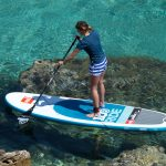 "Review of the 2016 Red Paddle Co 10'6"" Ride inflatable paddle board"