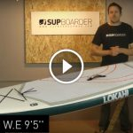 "Detailed video review of the Lokahi 9'5"" Water Explorer inflatable SUP"